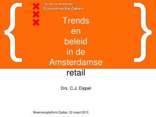 Trends  en  beleid  in de Amsterdamse retail