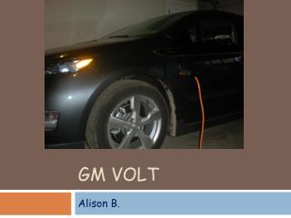 GM Volt