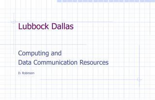 Lubbock Dallas