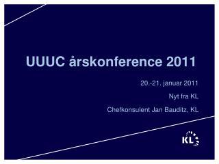UUUC �rskonference 2011