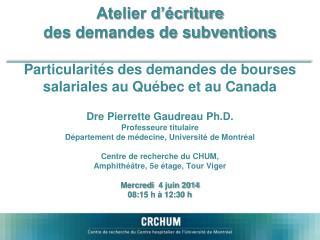 Fonds de Recherche de Québec – Santé Research Scholars – Junior 1 and 2, Senior