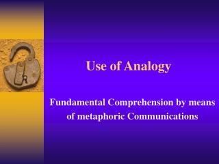 Use of Analogy