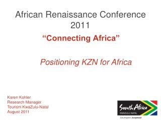 African Renaissance Conference 2011