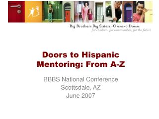Doors to Hispanic Mentoring: From A-Z
