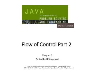 Flow of Control Part 2