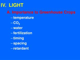 IV.LIGHT