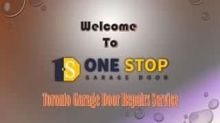 Toronto Garage Door Repairs Service