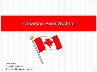 Canadian Point System