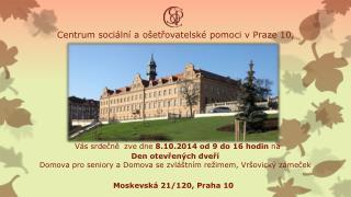 Centrum sociální a ošetřovatelské pomoci v Praze 10,