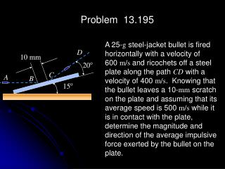 Problem  13.195