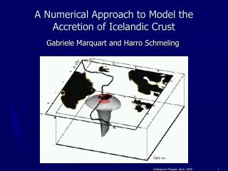A Numerical Approach to Model the Accretion of Icelandic Crust