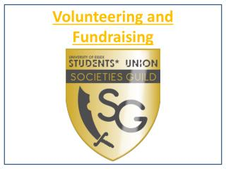 Volunteering and Fundraising