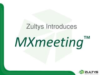 Zultys Introduces