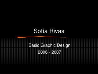 Sofía Rivas