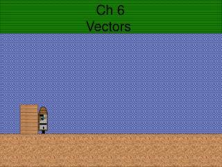 Ch 6  Vectors