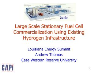 Large Scale Stationary Fuel Cell Commercialization Using Existing Hydrogen Infrastructure