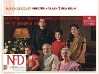 DLF Kings Court Greater Kailash 2 Delhi