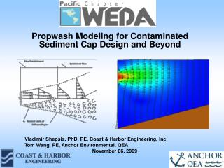 Propwash Modeling for Contaminated Sediment Cap Design and Beyond