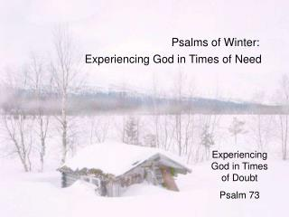 Psalms of Winter: