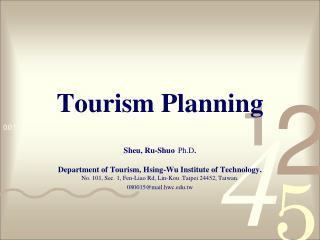 Tourism Planning