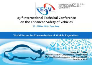 World Forum for Harmonization of Vehicle Regulations