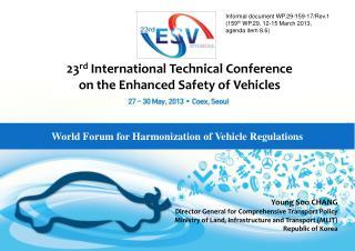 World Forum for Harmonization of Vehicle Regulations