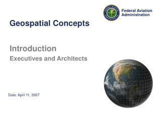 Geospatial Concepts