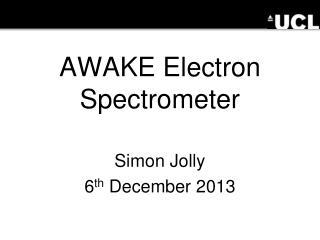 AWAKE Electron Spectrometer