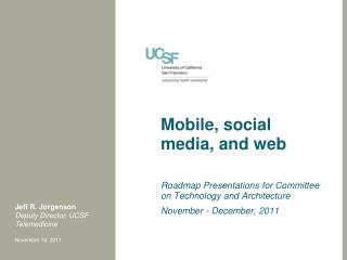 Mobile, social media, and web