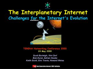 The Interplanetary Internet Challenges for the Internet's Evolution