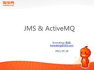 JMS & ActiveMQ
