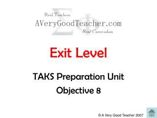 Exit Level