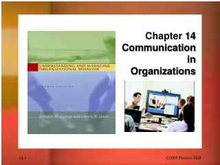 Chapter  14 Communication  in  Organizations