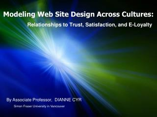 Modeling Web Site Design Across Cultures:
