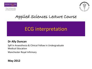 ECG interpretation