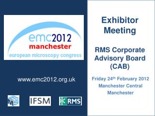 Friday 24th February 2012 Manchester Central Manchester