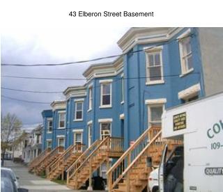 43 Elberon Street Basement