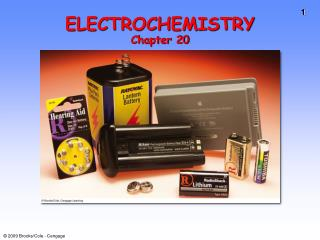 ELECTROCHEMISTRY Chapter 20