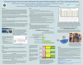 Climate Change Communication Between Broadcast Meteorologists and Their Viewing Audiences