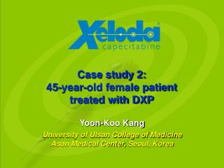 Case study 2: 45-year-old female patient treated with DXP