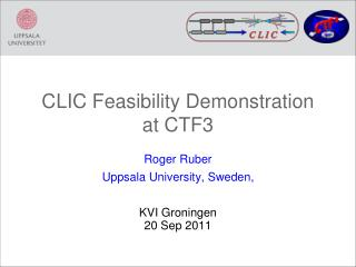 CLIC Feasibility Demonstration at CTF3