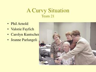 A Curvy Situation Team 21