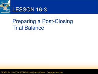 LESSON 16-3