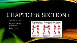 Chapter 18: Section 1