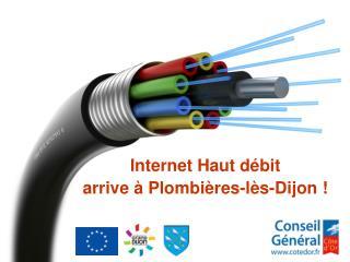Internet Haut débit  arrive à Plombières-lès-Dijon !