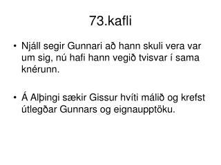 73.kafli