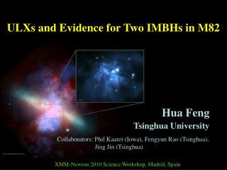 ULXs and Evidence for Two IMBHs in M82