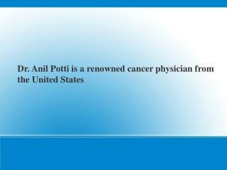 Anil Potti