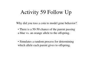 Activity 59 Follow Up