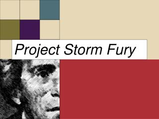 Project Storm Fury